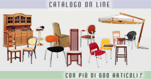 S e d i e a c c e s s o r i catalogo on line con for Sedie bar usate